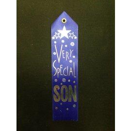 Award Ribbon- Very Special Son-8.25''