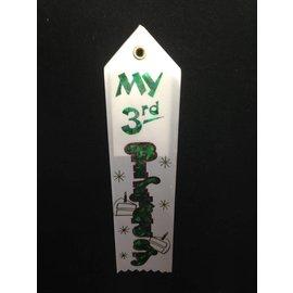 Award Ribbon- My 3rd Bday-8.25''