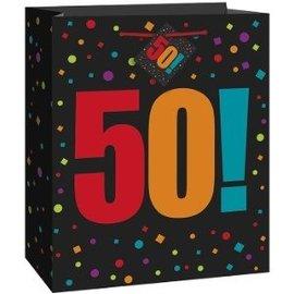 Gift Bag-50!th (Med)-Paper
