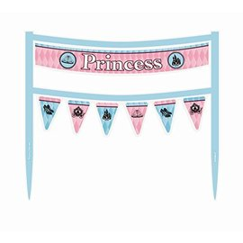 Cake Banner-Fairytale Princess-6.5''