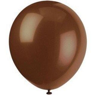Balloons-Latex-Brown-12''-10pk
