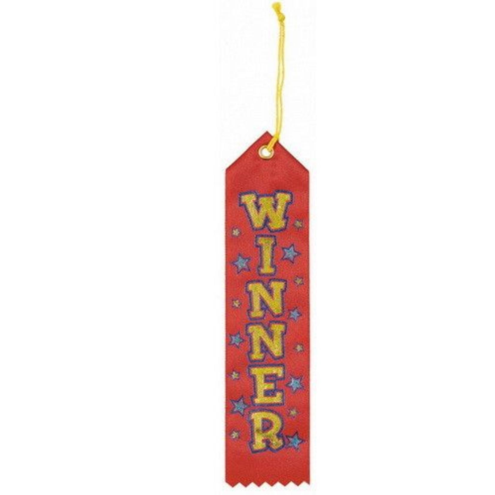Award Ribbon-Red-Winner-8.4''