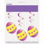 Danglers-Easter-Bright Eggs-3pk-Foil