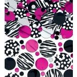 Confetti-Hot Pink Zebra