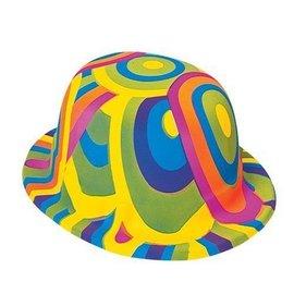 Hat- 60's Groovy-Plastic
