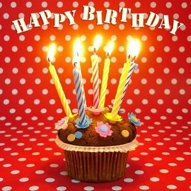 Napkins-LN-Happy Birthday Cupcake-20pkg-3ply (Discontinued)