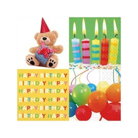 Napkins-LN-Birthday Surprise-20pkg-3ply- Discontinued
