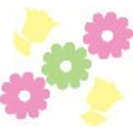 Confetti-Flowers-Felt-36pk (Discontinued)