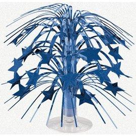 Centerpiece-Cascade-Blue Star-Foil-8.5''