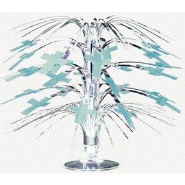Centerpiece-Religious Blue-8.5''
