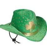 Cowboy Hat-St. Patrick's Day Clover-1pkg
