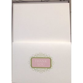 Thank You Cards-Wedding-Decorative Design-50pk