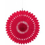 """Hanging Paper Decoration- Red- 1pc/16"""""""