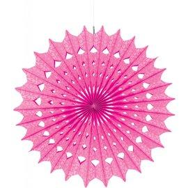 Paper Fan- Pink- 1pc/16''