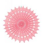 Paper Fan- Light Pink- 1pc/16''