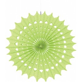 Paper Fan- Honeydew-16''