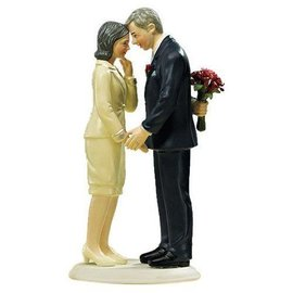 Cake Topper-Still in Love Mature Couple-1pkg-14cm