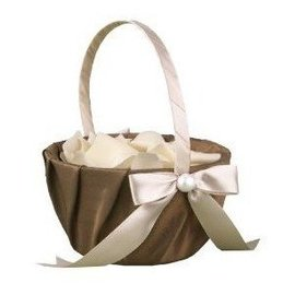 Basket-Meant to Be-Ivory and Brown-8'' x 6''