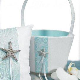 "Flower Girl Basket-Beach Collection-1pkg-8"""