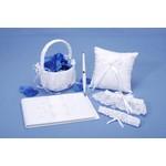 Bridal Set-White Lace-5pk