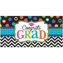 Banner-Large-Graduation-Dream Big-65'' x 33.5'' (Seasonal)