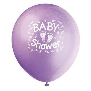 Balloons-Latex-Baby shower Steps-12'' (6pk)