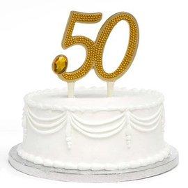 Cake topper-50th Anniversary