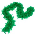 Feather Boa - Green - 6Ft