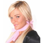 Costume Accessory-50's Pink Dog Earrings-1pkg