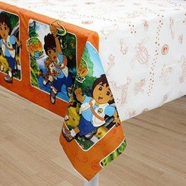 Table cover-Go Diego Go-Plastic-54'' x 96'' (Discontinued)