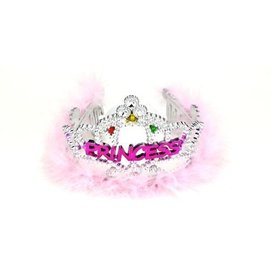 Flashing Tiara-Princess-Plastic-1pkg