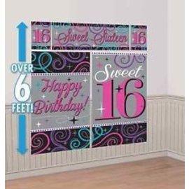 Wall Decor Kit Sweet # 16-6ft