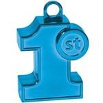 Balloon Weight-Modeld 1st Birthday-Blue-6oz