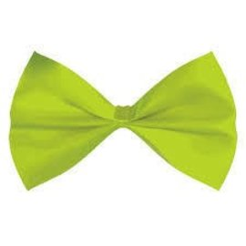 Bow Tie-Lime Green
