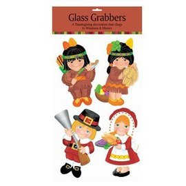 Glass Grabbers-Thanksgiving-4pk/23.75''