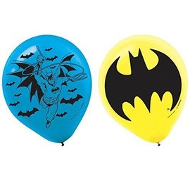 Balloons-Latex-Batman-6pk