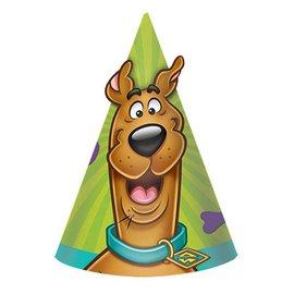 Hats-Cone-Scooby-Doo-8pkg-Paper