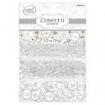 Confetti-I Do&Ring-White-Foil&Paper-1.2oz