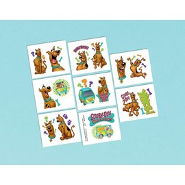 Tattoos- Scooby-Doo-16pk