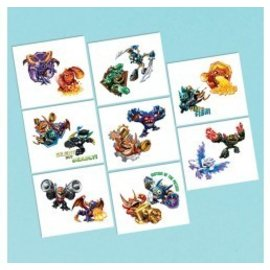 Tattoos- Skylanders-16pk (Discontinued)