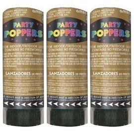 Confetti Popper-Gold-3pk/4''