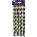 Beads-Value/Metallic-Mardi Gras-24pk/30''