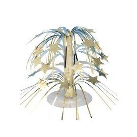 """Centerpiece-Foil Cascade-Gold Stars-1pkg-8.5"""""""