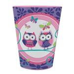 Plastic Cup-Owl Pal-1pkg-16oz
