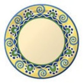Plates-DN-Mediterranean Pottery-8pkg-Paper (Discontinued/Final Sale)