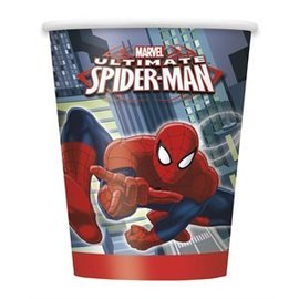 Cups-Ultimate Spider-Man-8pk-Paper