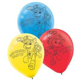 Balloon-Latex-Paw Patrol-16pk