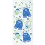 "Loot Bags- Blue Baby Clothes- 20pcs (12""x5.5"")"