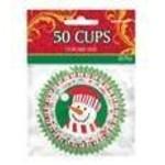 Cupcake Wrap-Christmas-50pk