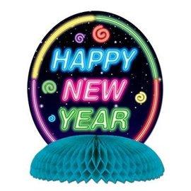 "Centerpiece-Honeycomb-Happy New Year-1pkg-10"""